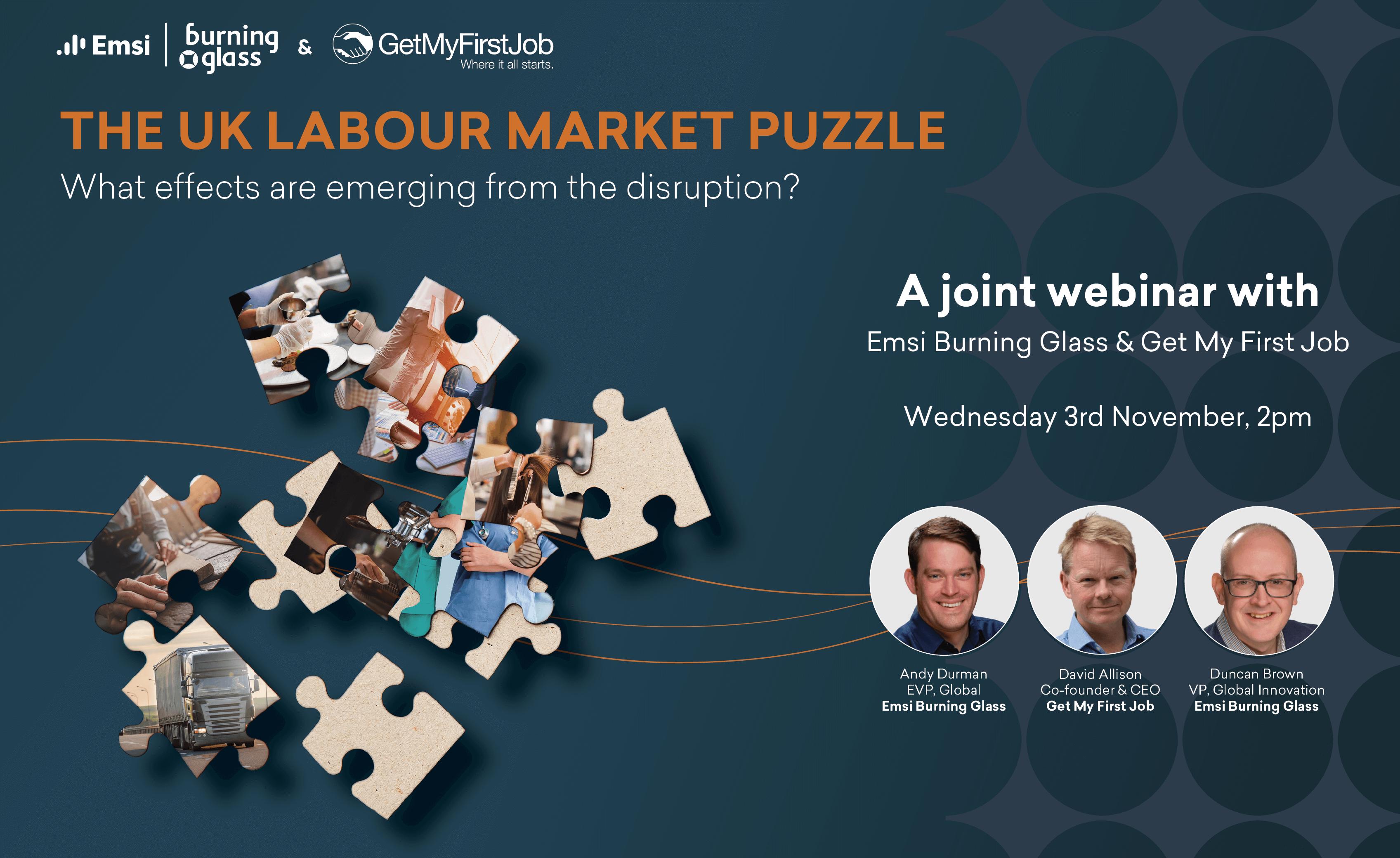 UK Labour Market Puzzle Webinar Header